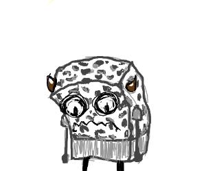 sad demon spongebob