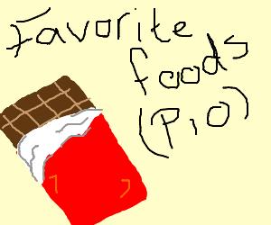 Favorite foods PIO