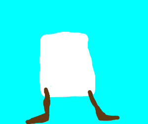 Marshmallow with Chocolate legs
