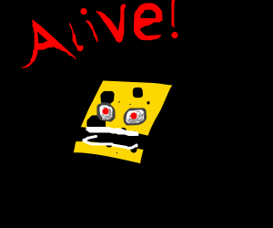 THE CHEESE IS ALIVE!!!