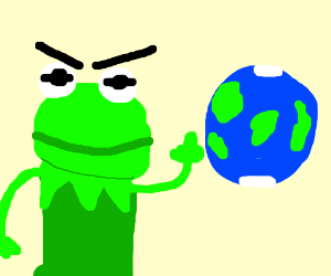 kermit hates earth