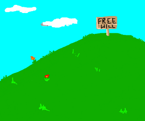 The hill is free