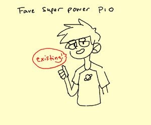 fav super power pio! (mind reading)
