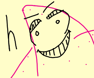 patrick looks down intensely meme - Drawception