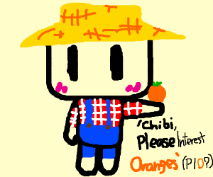 Chibis, Please Interest Oranges.