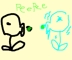 peashooter vs frozen peashooter