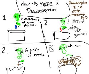 Drawception is an alien invention PIO