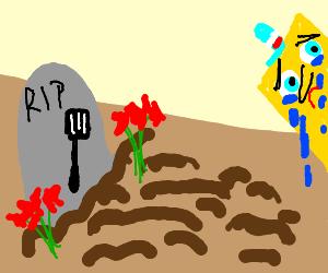 RIP spongebobs spatula