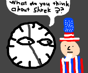 Father Time questions Uncle Sam