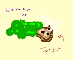 Venom loves toast