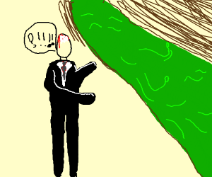 slender man questioning the green river