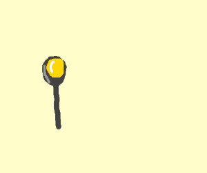 Butter on a spoon