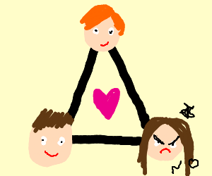 Girl does not want part in this love triangle