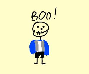 Skeletin guy