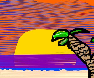 sky island sunset