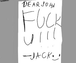 Revenge note