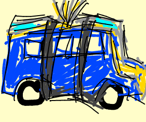 Fortnite Battle Bus Drawing By Zudwig Lerle Drawception