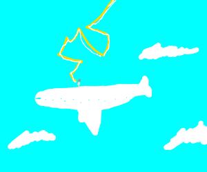 Zeus on a plane
