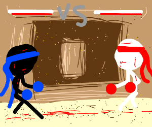 Final Match against who has the worst drawing