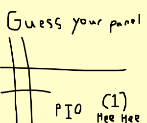 Guess your panel # PIO (1)