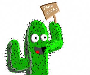 Cactus wants a hug