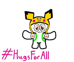 Hugs for all