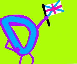 The Drawception D from Great Britian