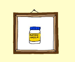 Framed Mayonnaise