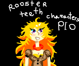 rooserteeth chareckters pio