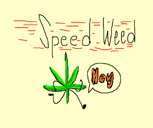 It's me, ya boi, SpeedWeed.