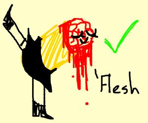 fabulous flesh burrito is OK
