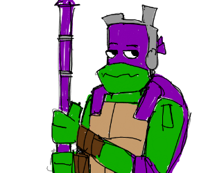 purple ninja turtle