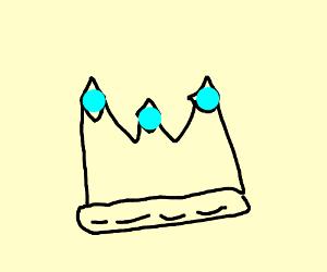 Crystal crown-looking thing