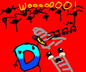 Drawception D kills Derails