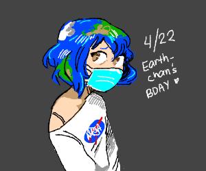 April 22, Earth-chan's birthday