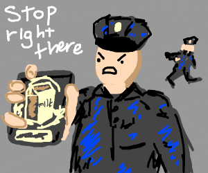 Da milk police