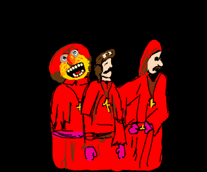 Yellmo expected the Spanish Inquisition!