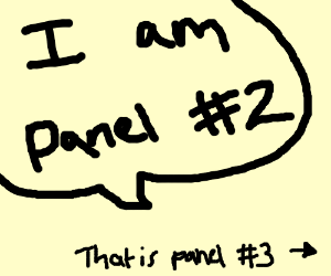 This is panel 1, now you cont. (u say ur #2 )