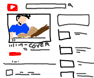a video cover