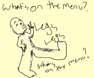 legs meme