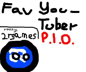 Favorite Youtuber P.I.O.