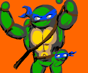 Buff Ninja Turtle Daddy