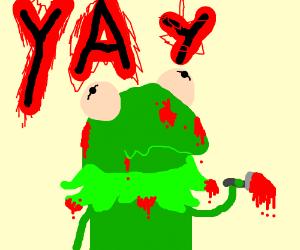 yayy kermit the murderer