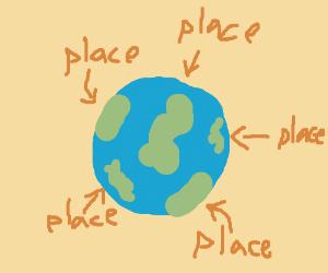 Diagram of Earth