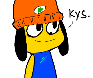 PaRappa tells you to kys