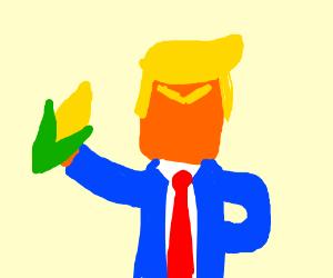 trump loves corn