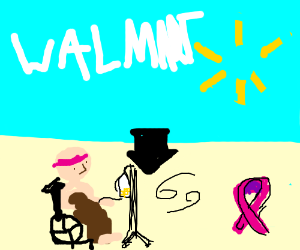 walmart causes cancer