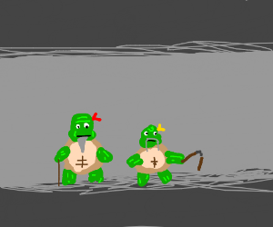 Old Age Mutant Ninja Turtles