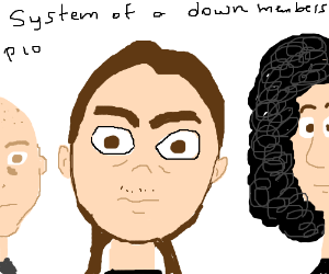 System of a down members(pio)