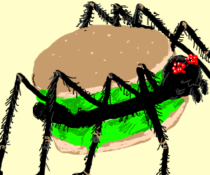 The Amazing SpiderBurger